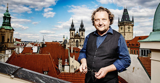 Řešíme magistrálu i budovu filharmonie, říká architekt a náměstek primátora Petr Hlaváček