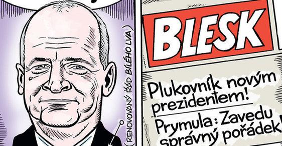 Zelený Raoul: Prymula na Hrad! Zeman a Babiš mají nového favorita na prezidenta