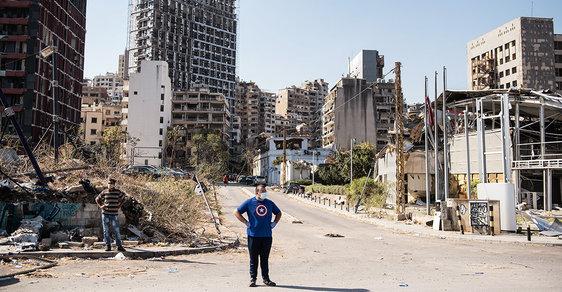 Bejrútský výbuch: Jak se ze Švýcarska Orientu stal sud sprachem