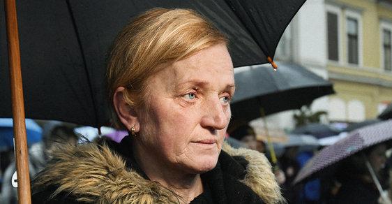 Naše děti byly zavražděné, protože chtěly dobro pro Slovensko, říká matka snoubenky novináře Kuciaka