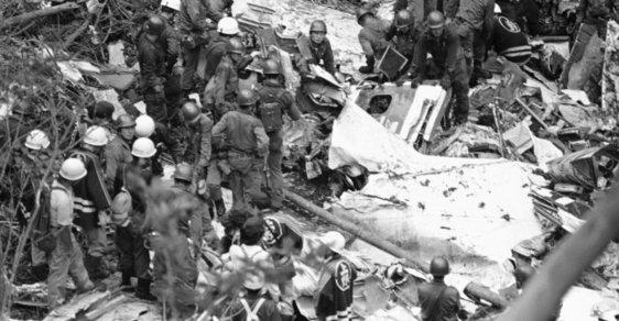 Před 35 lety narazilo letadlo do hory Takamagahara. Druhý nejtragičtější let v dějinách nepřežilo 520 lidí