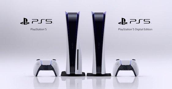 Playstation 5 oznámen. Do Česka dorazí 19. listopadu, cena začíná na necelých 11 tisících