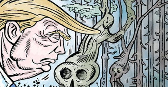 Zelený Raoul: Trump kontra Fantomas aneb Silnější pes m*dá