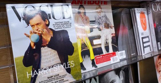 Anglický zpěvák se stal prvním mužem na obálce Vogue a tváří genderově neutrální módy