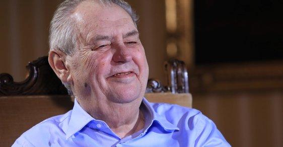 Miloš Zeman opět demonstroval, že je a bude neřízenou střelou. V případě potřeby pošlape i volební výsledky