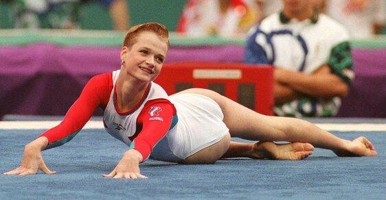 Zlaté medaile, ale i nahota a zvláštní výroky aneb Legendární carevna gymnastiky Světlana Chorkinová