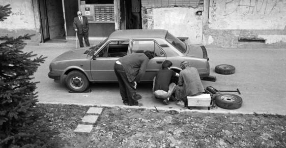 Tak vypadal všední den běžných lidí v komunistické Ostravě: Polozapomenuté snímky z 80. let