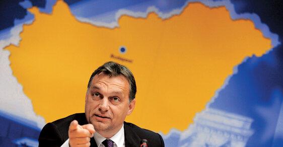 Chceme silnou demokracii, říká premiér Orbán