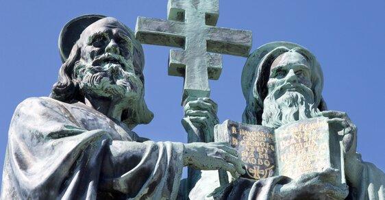 Věrozvěsti Cyril a Metoděj přišli na Velkou Moravu v roce 863. Proč jejich příchod slavíme 5. července?