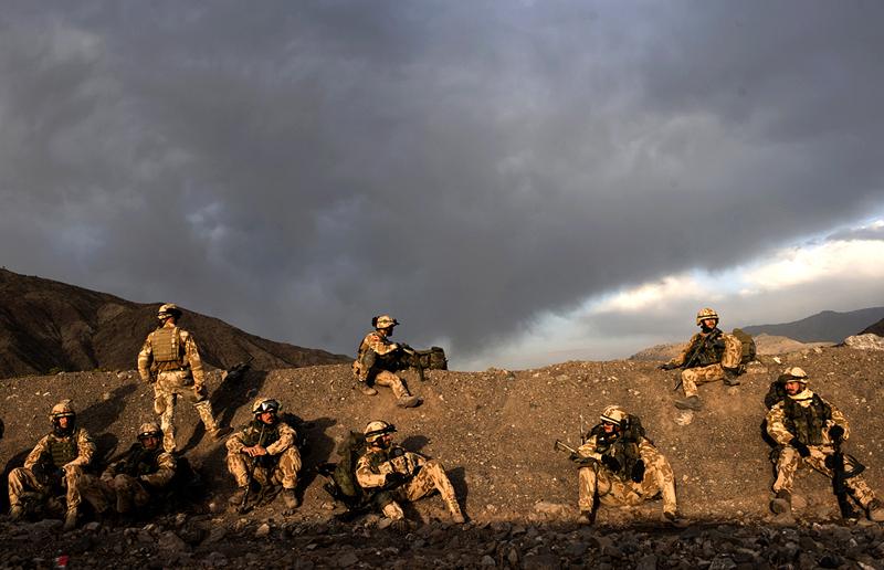 Čeští vojáci při nasazení v Afghanistánu