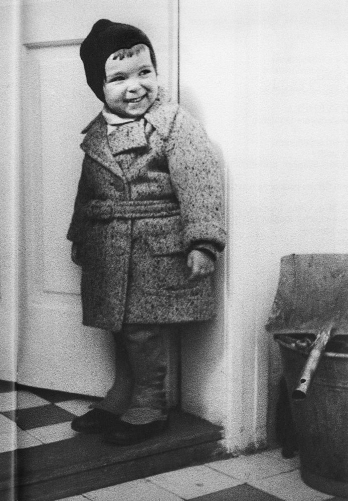 Hana Hegerová jako malé dítě