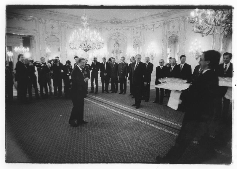 Život Václava Havla očima jeho dvorního fotografa