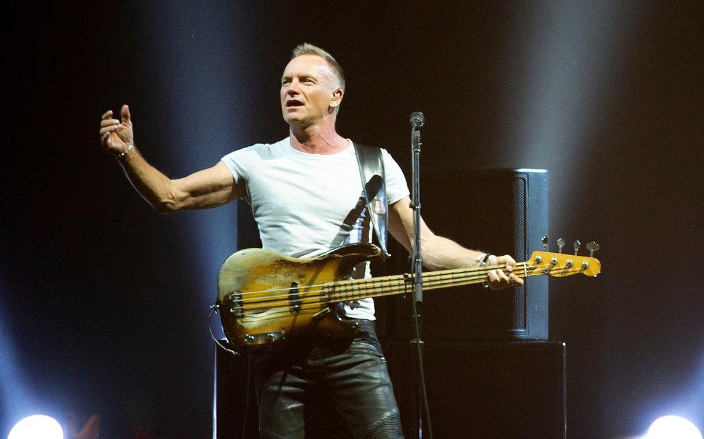 Sting to rozjel v Praze