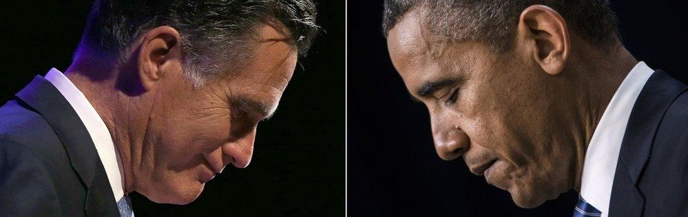 Mitt Romney & Barack Obama