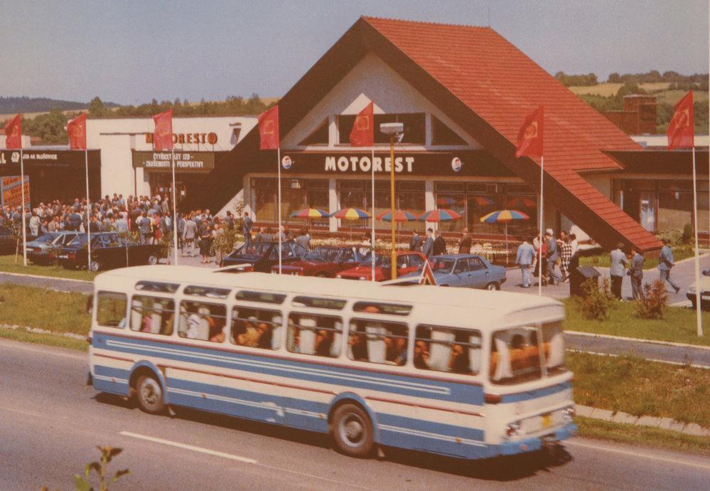 V osmdesátých letech byla obec turisticky lákavá...