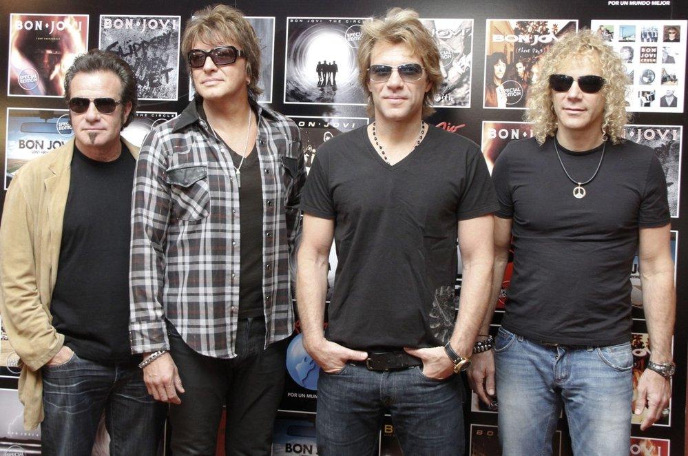 Legendární kapela Bon Jovi