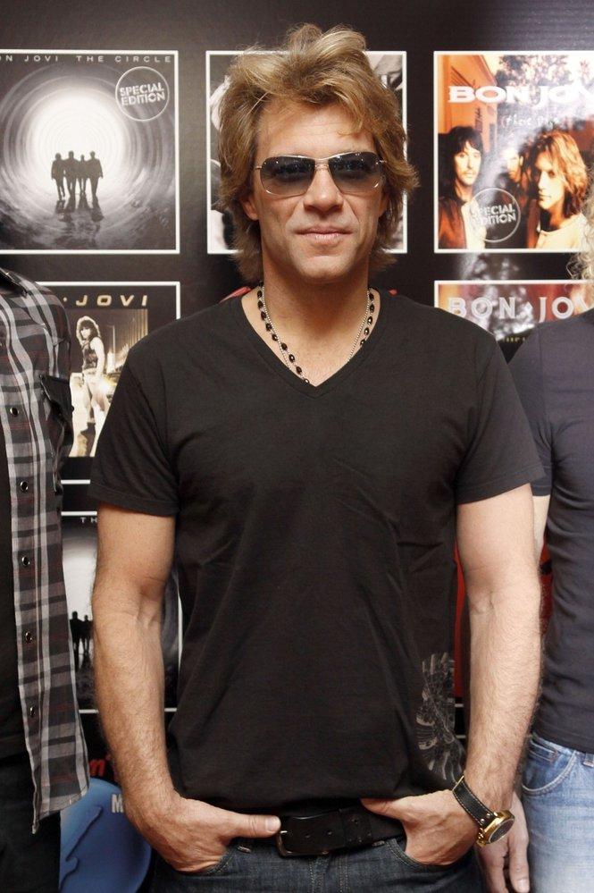 Zpěvák Jon Bon Jovi žije celý život po boku jediné ženy