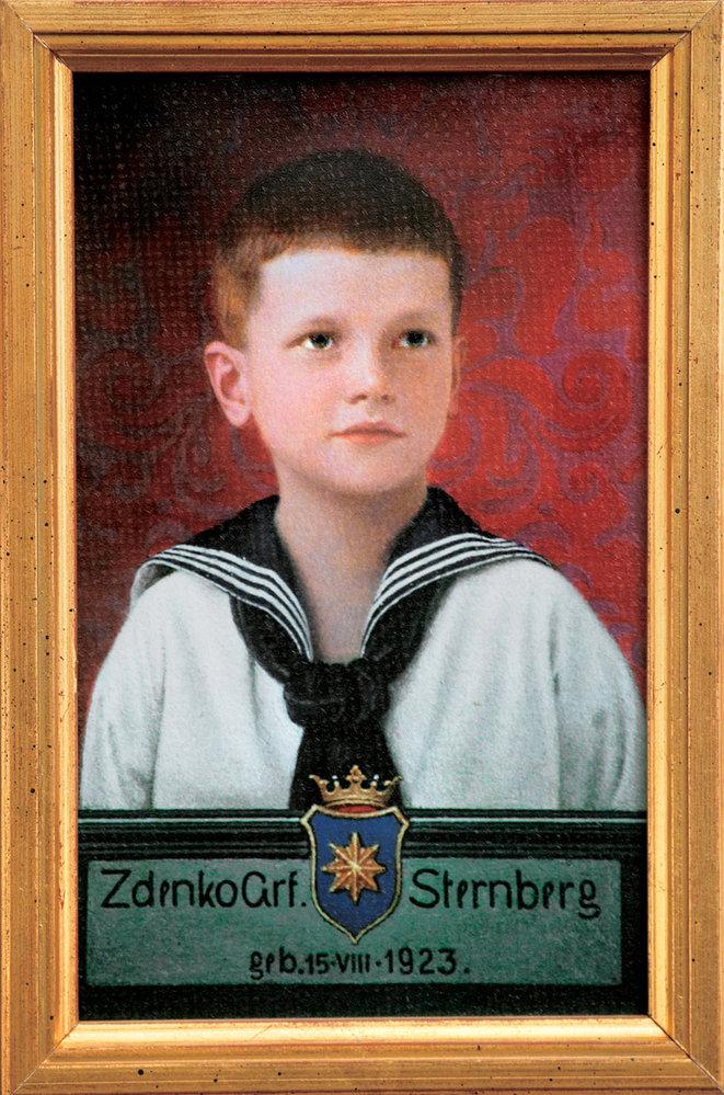 První podobizna Zdeňka Sternberga pro hradní rodokmen