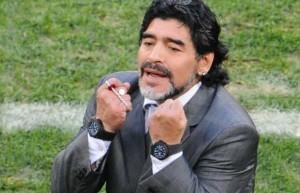 Argentinský fotbalista Diego Maradona.
