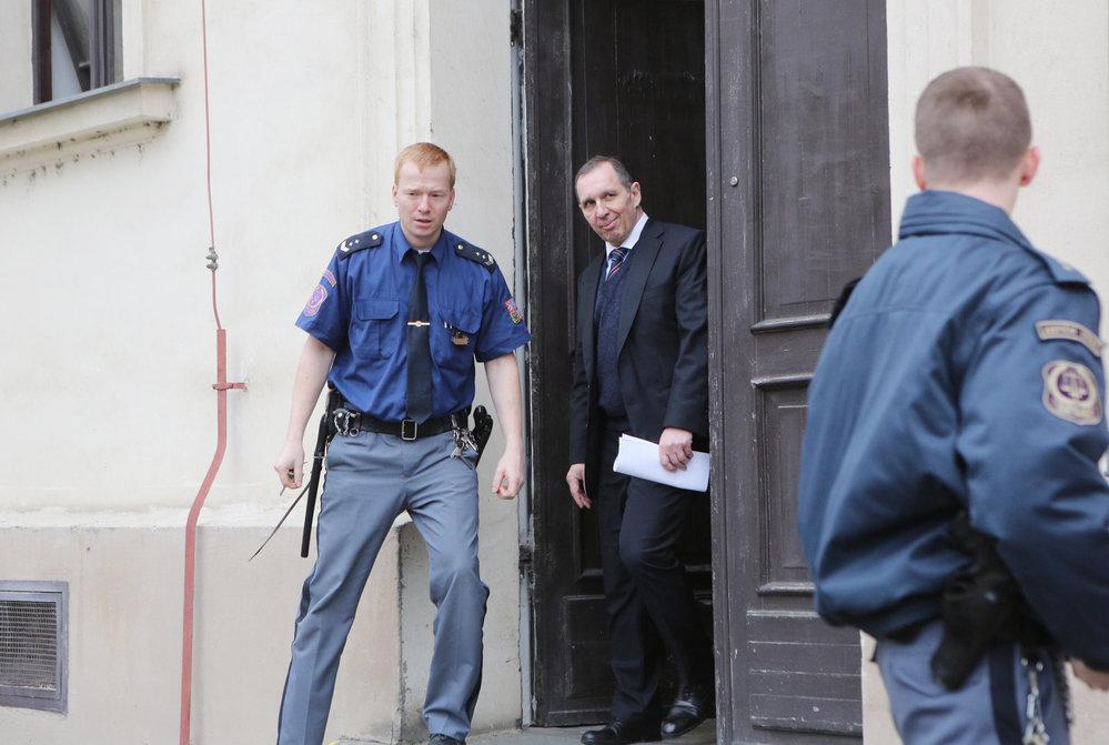 Petr Kott se jako poslední z trojice hlavních obviněných v kauze Rath dostal v roce 2013 na svobodu.