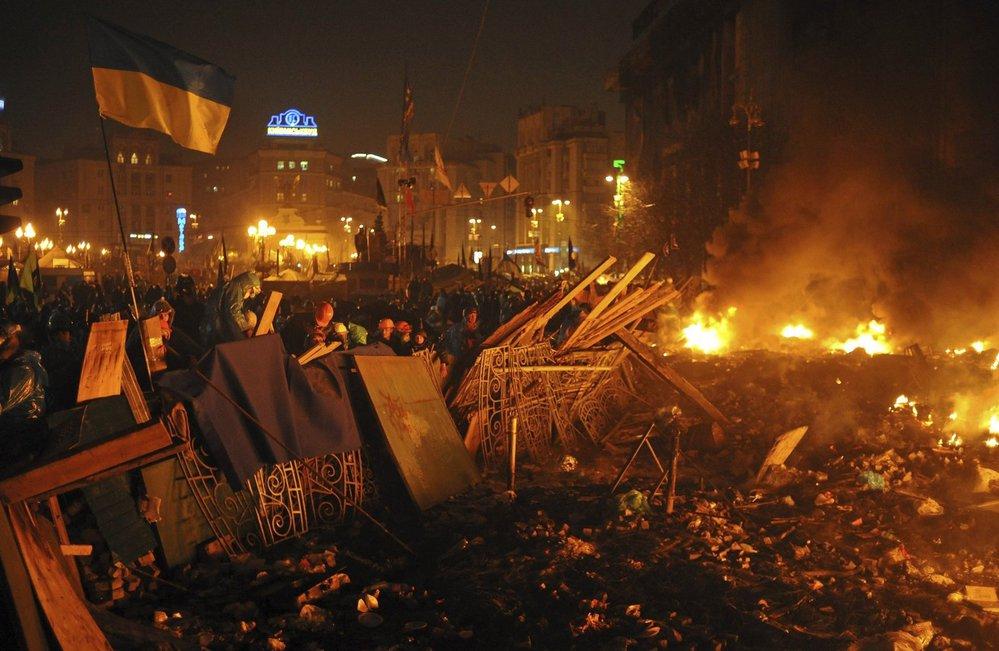 Majdan, Ukrajina, 2014