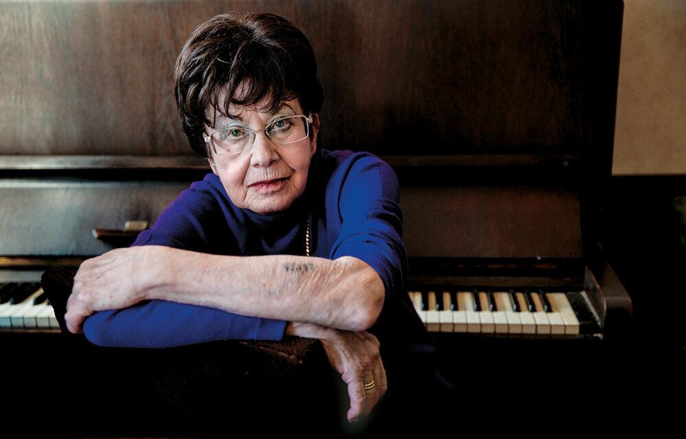 Zuzana Růžičková: IvOsvětimi jsem slyšela hudbu. Vduchu jsem si přehrávala Bacha. Jako svůj talisman jsem si vTerezíně na útržek notového papíru zapsala část Sarabandy ze suity dmoll.