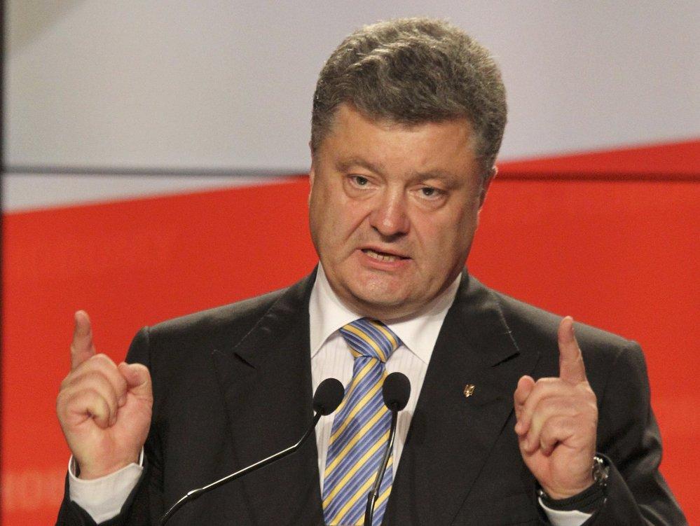 Petro Porošenko v roce 2014 vyhrál prezidentské volby