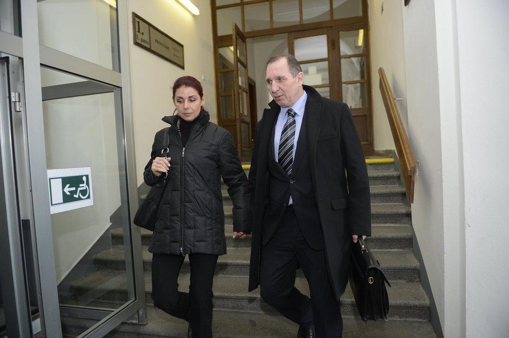 Kateřina Pancová a Petr Kott se vzali v roce 2014 po propuštění z vazby.