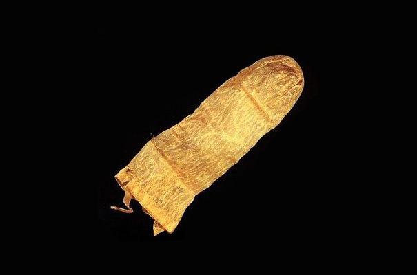Kondom na více použití, Švédsko, starý 370 let