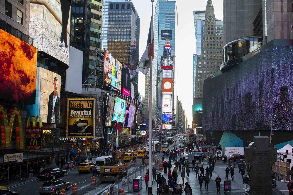 4. Times Square – pokud jste v New Yorku, není místo, z něhož byste mohli pořídit fotografii, která by více křičela do světa: Jsem v New Yorku, než Time Square.
