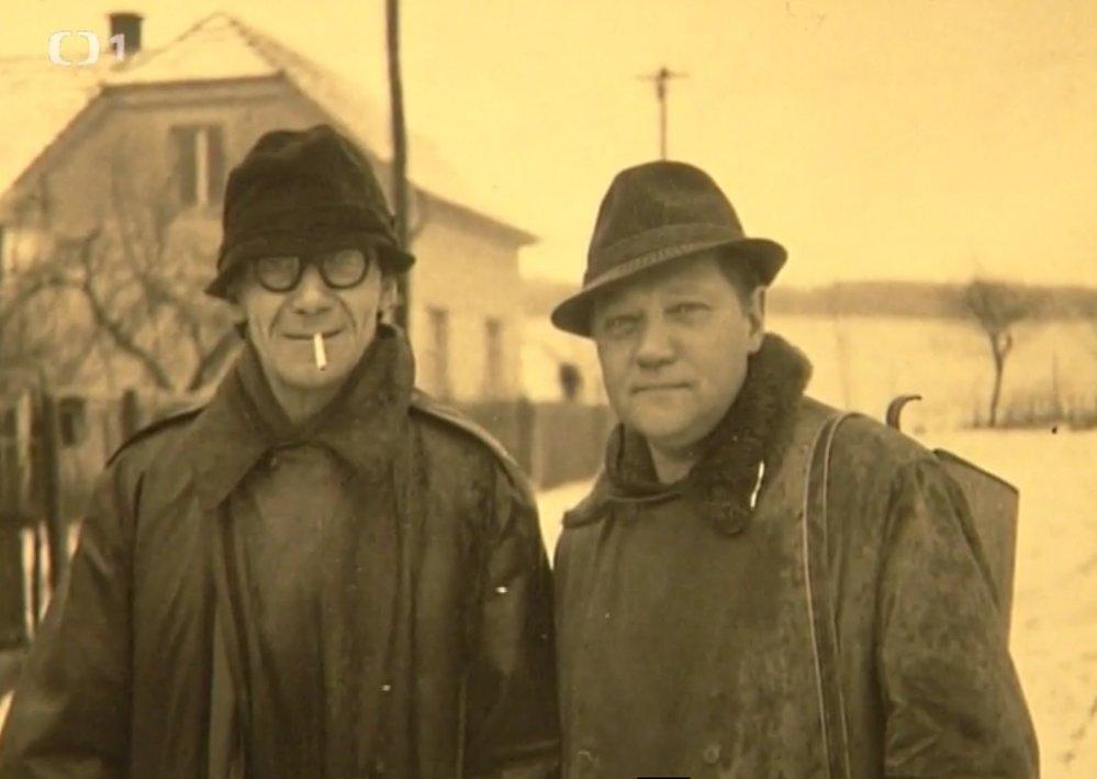 Kemr s Hrušínským trávili v Plané každé léto a pravidelně chodili s místními do hospůdky.