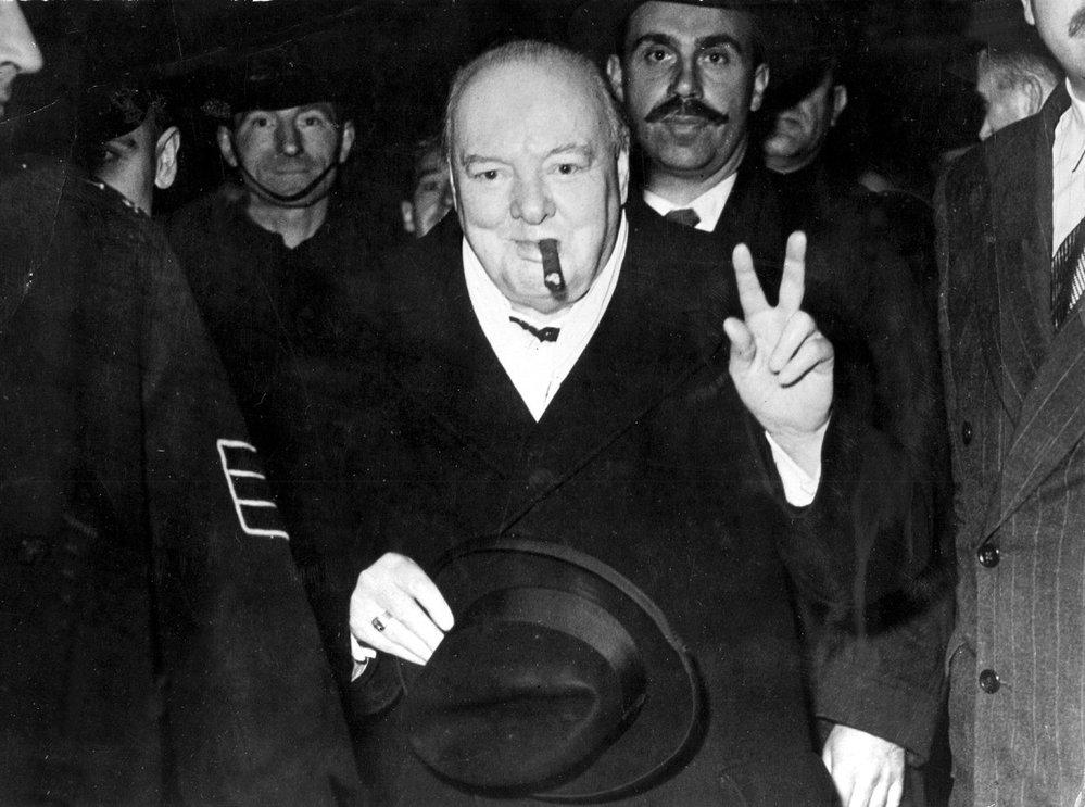 Winston Churchill. Britský premiér a několikanásobný ministr