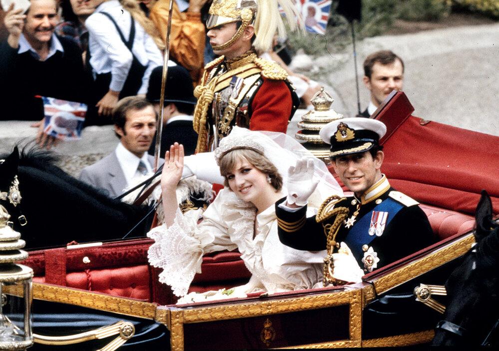 Charlesovu pověst nejvíc pošramotil sňatek sprinceznou Dianou (1981)