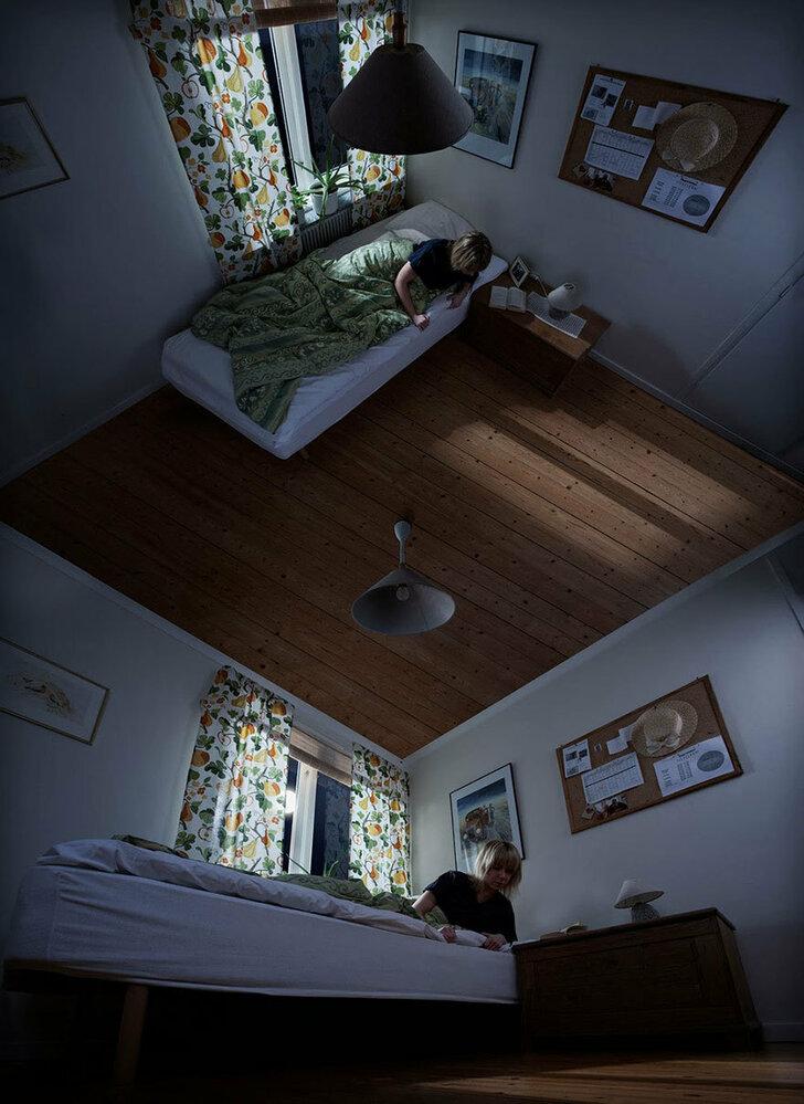 Švédský fotograf Erik Johansson si na své práci dal opravdu záležet