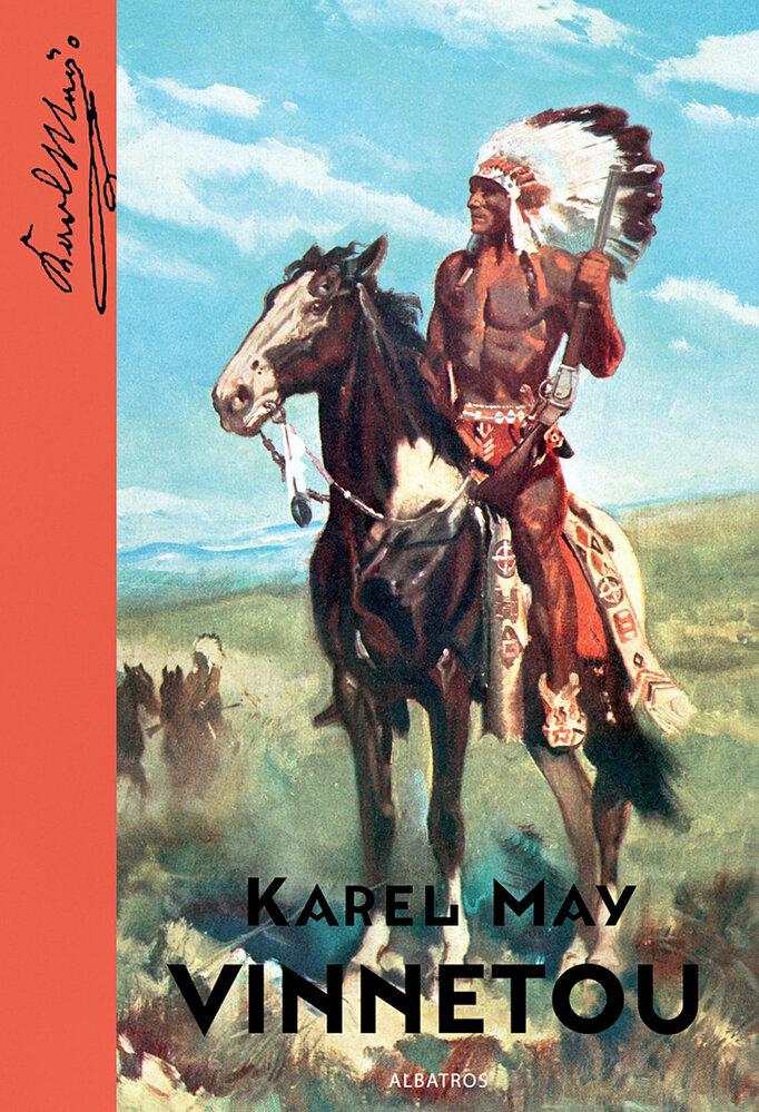 ...je součástí itéto knihy. Román Vinnetou vpřevyprávění Vítězslava Kocourka vydal vněkolikáté reedici loni Albatros.