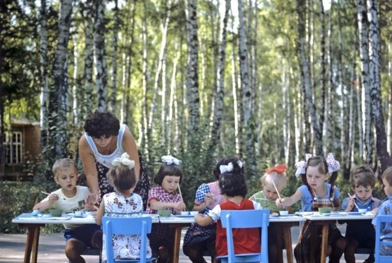Šťastní lidé v Sovětském svazu