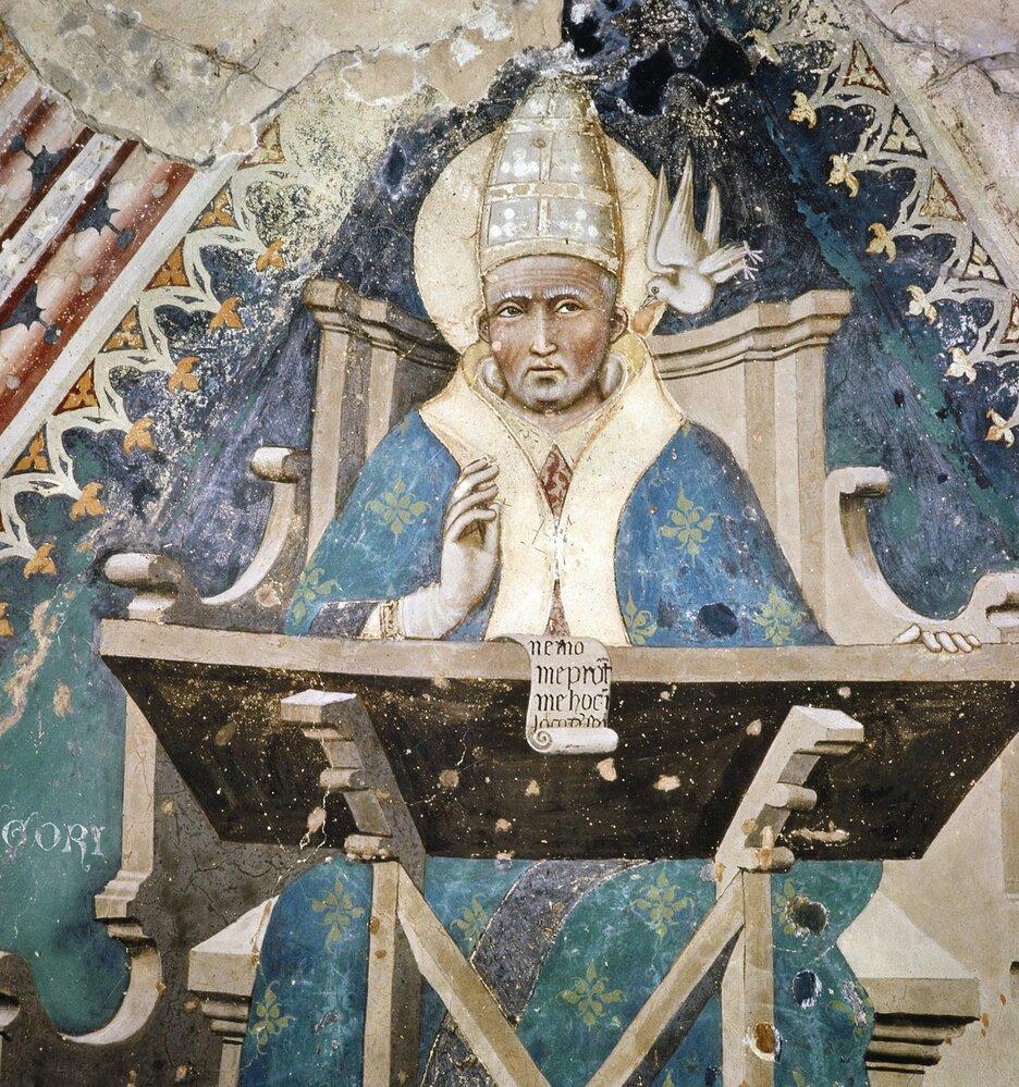 Papež Řehoř I. učinil zMarie hříšníci a zbavil ji  tak výjimečného postavení vdějinách církve