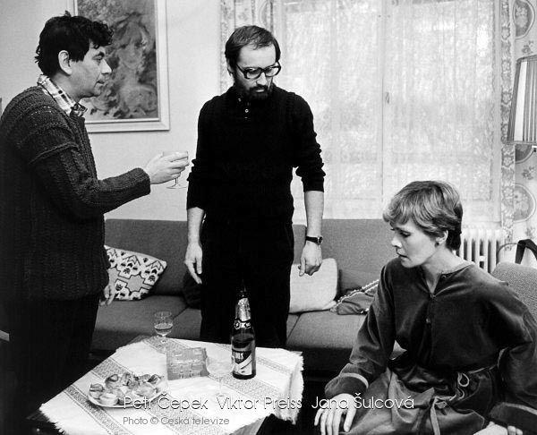 1982: Šulcová s Čepkem ve filmu Portrét.