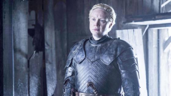 Hra o trůny: Gwendoline Christie v roli Brienne z Tarthu.