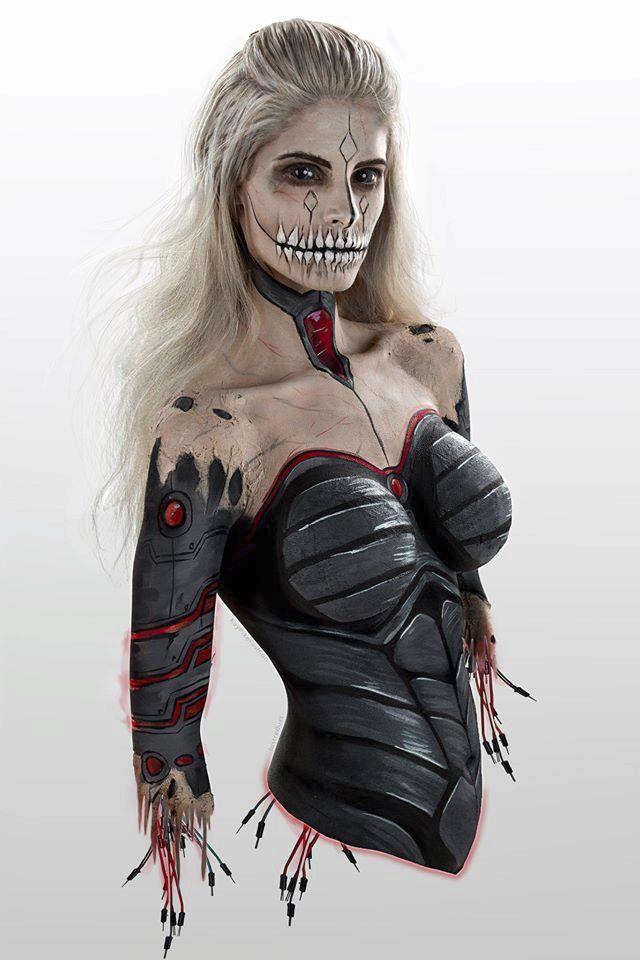 K3, zombie kyborg, nebo tak něco.