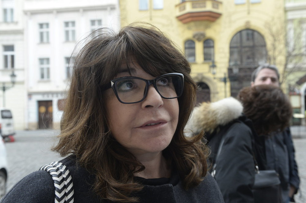 Soud kvůli Zemanovu Peroutkovi: Terezie Kaslová po verdiktu Obvodního soudu pro Prahu 1