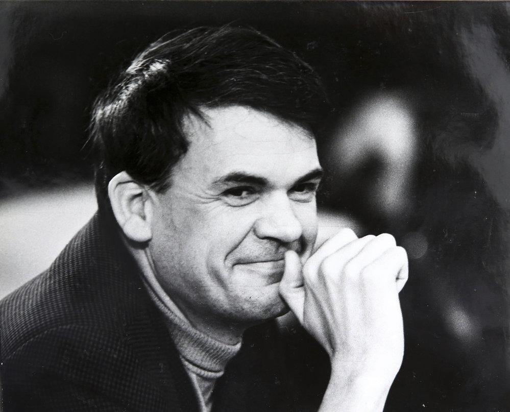 Spisovatel Milan Kundera na archivním snímku.