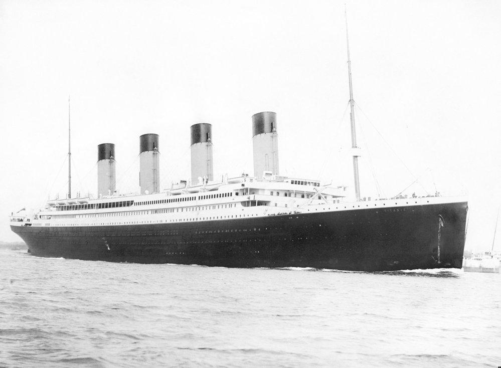 Titanic v plné kráse.