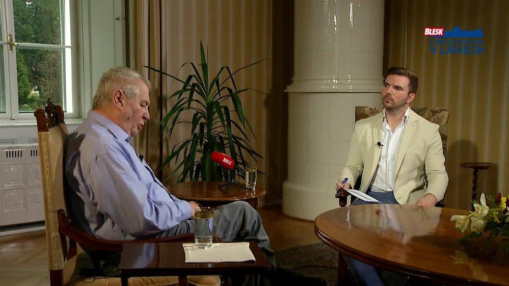 Prezident Zeman o obchodování s Čínou