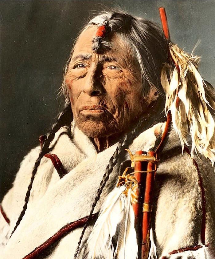 Eagle Arrow, a Siksima Man, 1900