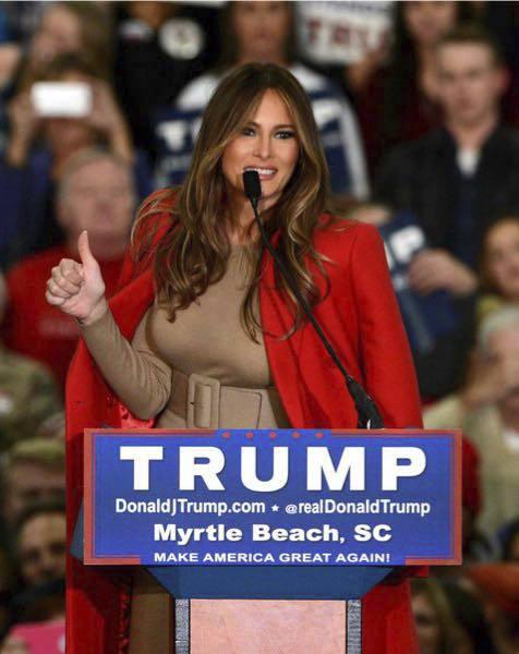 Melania Trumpová.