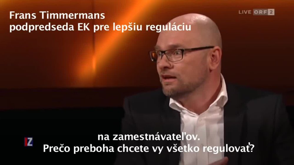Richard Sulík versus Franz Timmermans: Jednotná mzda?
