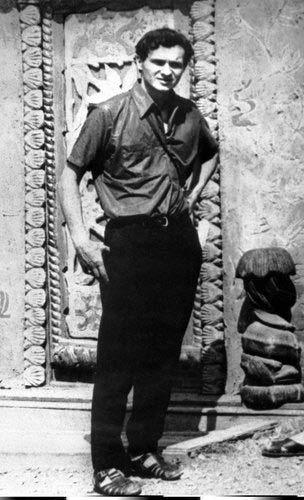 Jan Palach, student filozofické fakulty UK, který se 19.ledna 1969 upálil na Václavském náměstí v Praze.