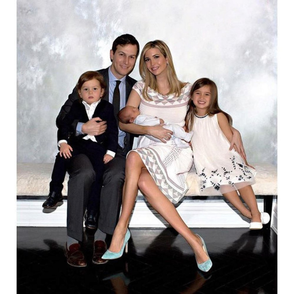 Ivanka Marie Trump s manželem Jaredem Kushnerem, kvůli kterému konvertovala k judaismu. Manželé mají tři děti. Arabellu Rose Kushner, Josepha Fredericka Kushnera a Theodora Jamese Kushnera.