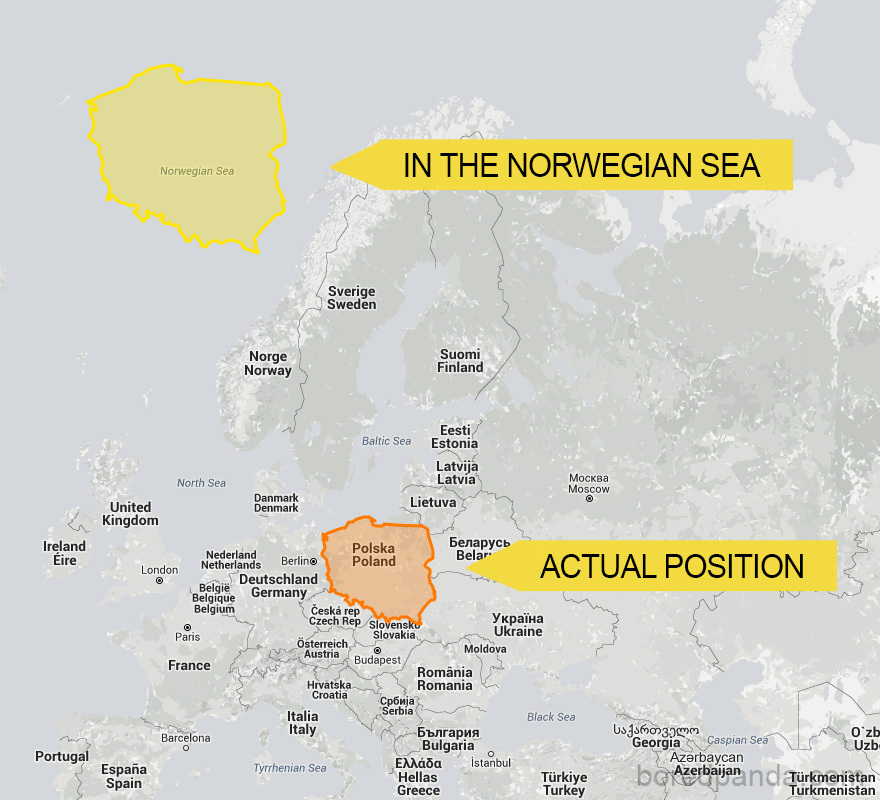 Kdyby Polsko leželo v Norském moři...